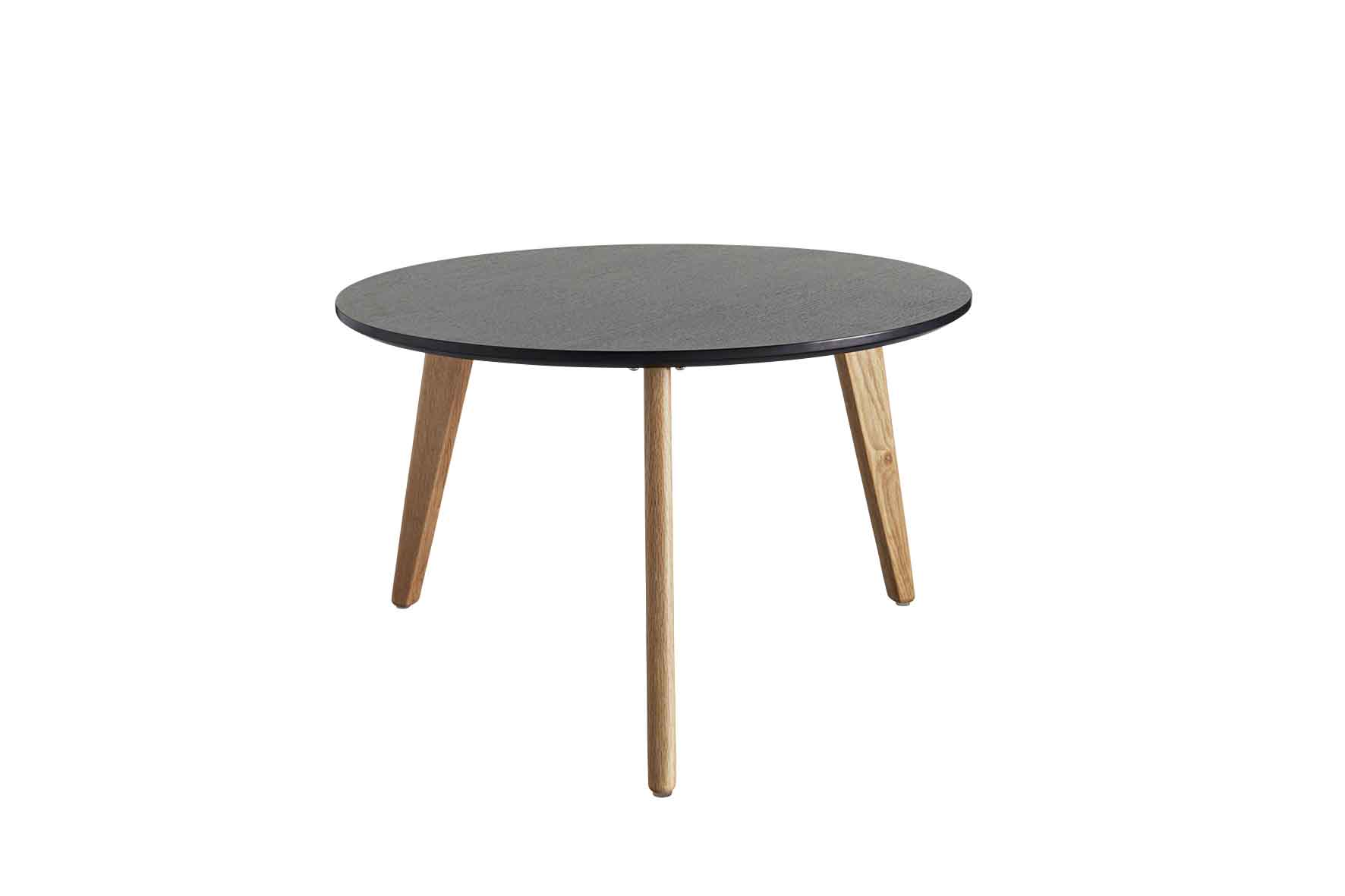 Stylo Coffee Table with Black Top - Large