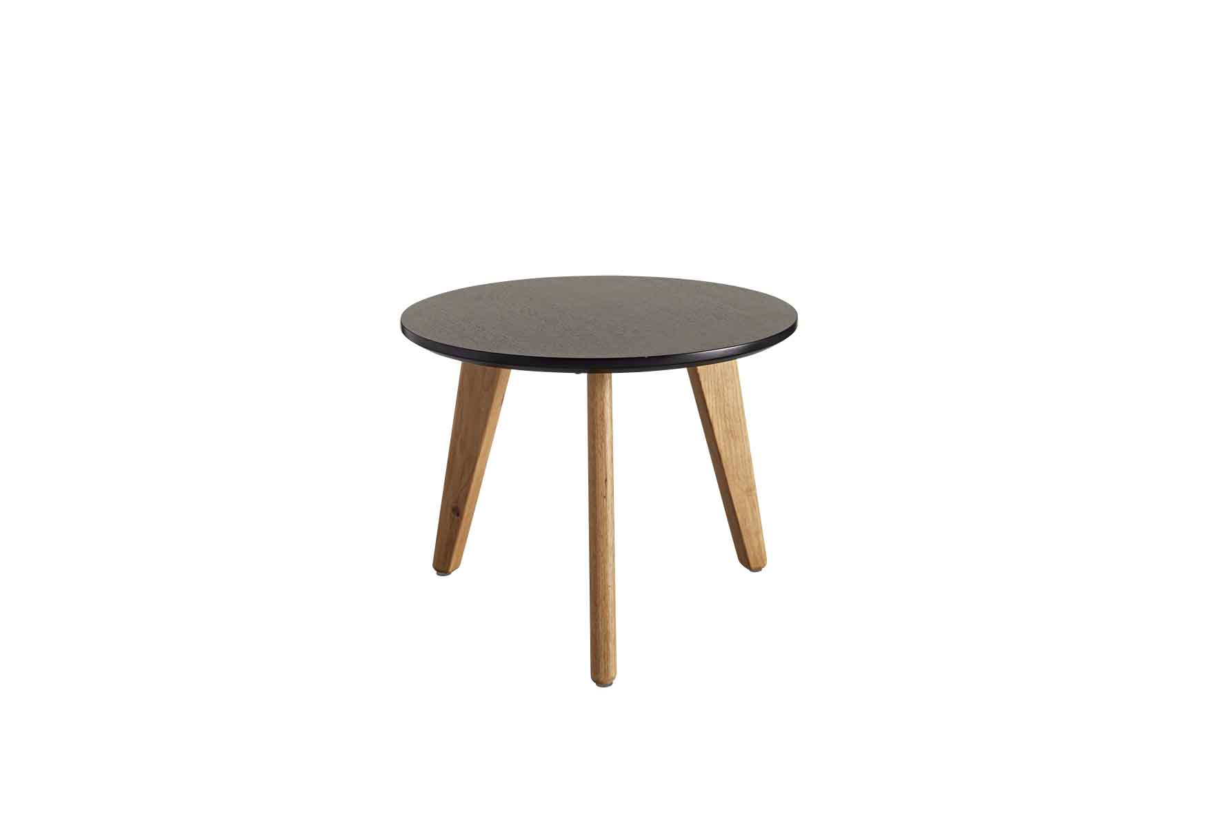 Stylo Coffee Table with Black Top - Medium