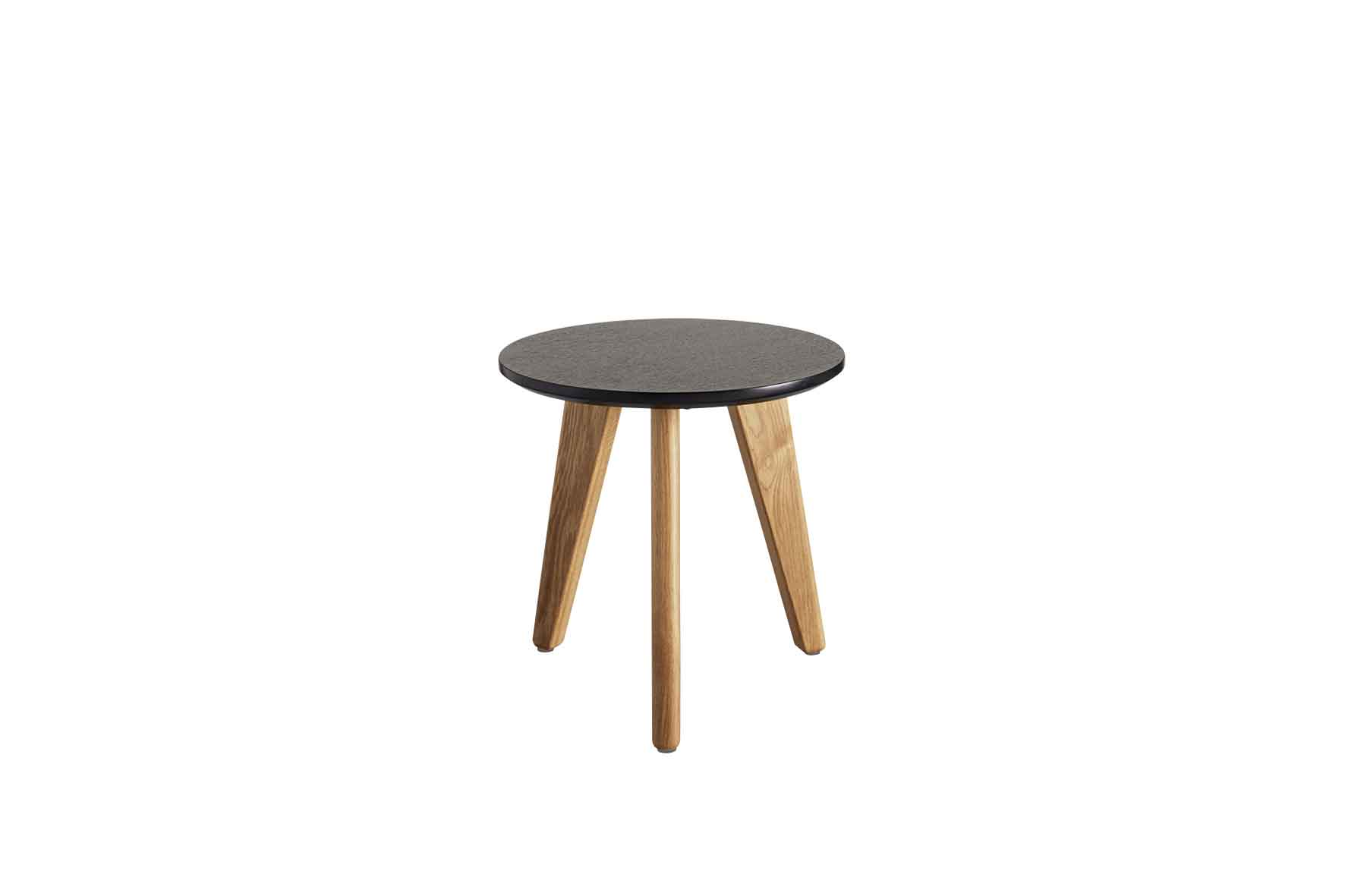 Stylo Coffee Table with Black Top - Small